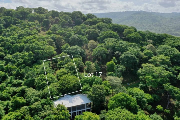 Lot 17 is walking distance to the beach.