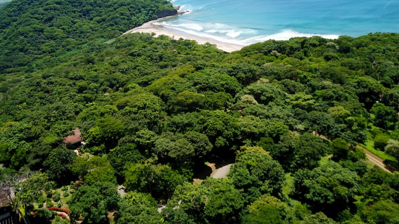 This lot is in the gated community of Costa Dulce.
