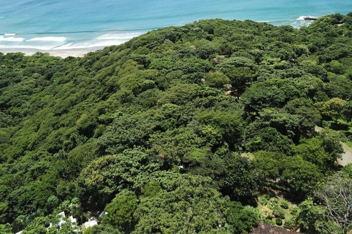 This ocean view lot is in a gated community of Costa Dulce