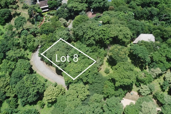 This Ocean view lot is in the gated community of Costa Dulce.